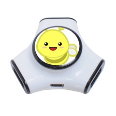 Kawaii Bee 3-Port USB Hub
