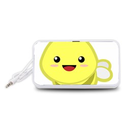 Kawaii Bee Portable Speaker (white)