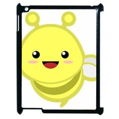 Kawaii Bee Apple iPad 2 Case (Black)