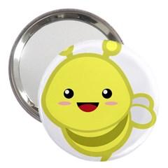 Kawaii Bee 3  Handbag Mirrors