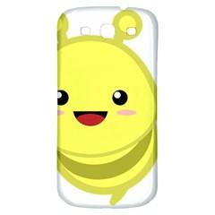 Kawaii Bee Samsung Galaxy S3 S III Classic Hardshell Back Case