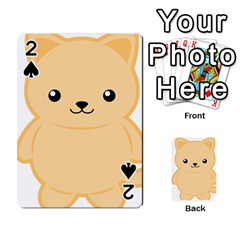 Kawaii Cat Playing Cards 54 Designs