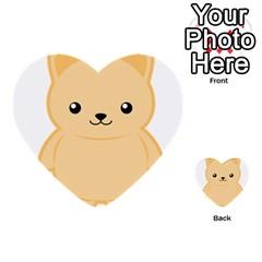 Kawaii Cat Multi Purpose Cards (heart)