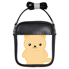 Kawaii Cat Girls Sling Bags