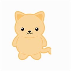 Kawaii Cat Small Garden Flag (Two Sides)