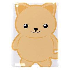 Kawaii Cat Apple iPad 3/4 Hardshell Case (Compatible with Smart Cover)
