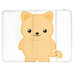 Kawaii Cat Samsung Galaxy Tab 7  P1000 Flip Case