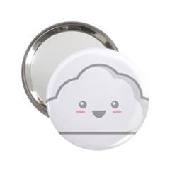 Kawaii Cloud 2.25  Handbag Mirrors