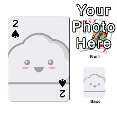 Kawaii Cloud Playing Cards 54 Designs