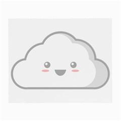 Kawaii Cloud Small Glasses Cloth (2-Side)
