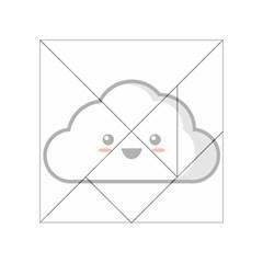 Kawaii Cloud Acrylic Tangram Puzzle (4  x 4 )