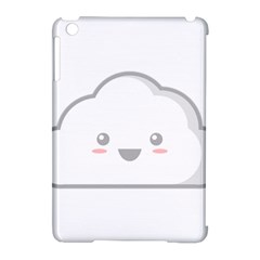 Kawaii Cloud Apple iPad Mini Hardshell Case (Compatible with Smart Cover)