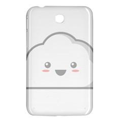 Kawaii Cloud Samsung Galaxy Tab 3 (7 ) P3200 Hardshell Case