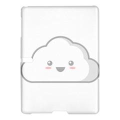 Kawaii Cloud Samsung Galaxy Tab S (10 5 ) Hardshell Case