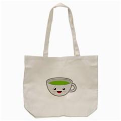 Kawaii Cup Tote Bag (Cream)
