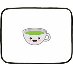 Kawaii Cup Fleece Blanket (Mini)