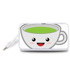 Kawaii Cup Portable Speaker (White)