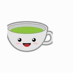 Kawaii Cup Small Garden Flag (two Sides)