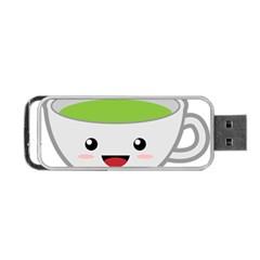 Kawaii Cup Portable Usb Flash (two Sides)