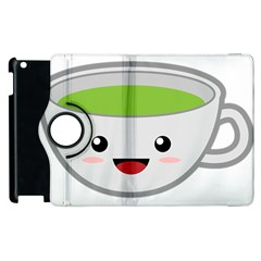 Kawaii Cup Apple iPad 2 Flip 360 Case
