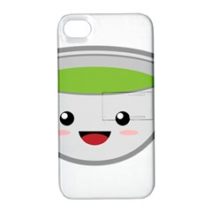 Kawaii Cup Apple iPhone 4/4S Hardshell Case with Stand