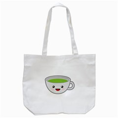 Kawaii Cup Tote Bag (white)