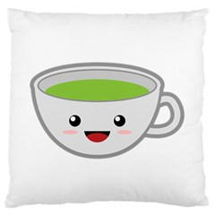 Kawaii Cup Standard Flano Cushion Cases (one Side)