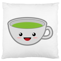 Kawaii Cup Large Flano Cushion Cases (Two Sides)