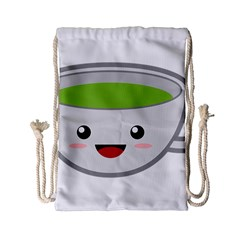 Kawaii Cup Drawstring Bag (Small)
