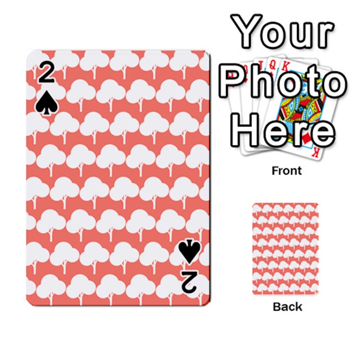 Tree Illustration Gifts Playing Cards 54 Designs