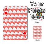 Tree Illustration Gifts Playing Cards 54 Designs  Front - Heart8