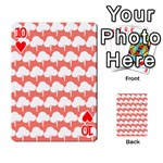 Tree Illustration Gifts Playing Cards 54 Designs  Front - Heart10
