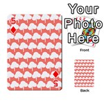 Tree Illustration Gifts Playing Cards 54 Designs  Front - Diamond5