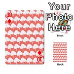 Tree Illustration Gifts Playing Cards 54 Designs  Front - Diamond10