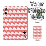 Tree Illustration Gifts Playing Cards 54 Designs  Front - Spade8