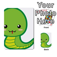 Kawaii Snake Multi Purpose Cards (rectangle)