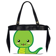 Kawaii Snake Office Handbags (2 Sides)