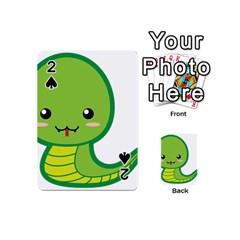 Kawaii Snake Playing Cards 54 (Mini)