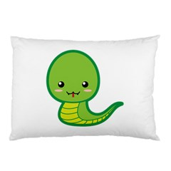 Kawaii Snake Pillow Cases (two Sides)
