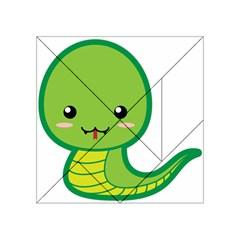 Kawaii Snake Acrylic Tangram Puzzle (4  x 4 )