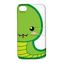 Kawaii Snake Apple iPhone 4/4S Hardshell Case with Stand