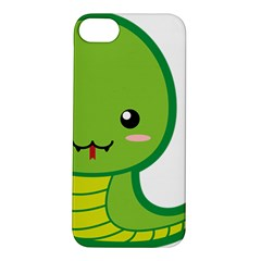 Kawaii Snake Apple iPhone 5S Hardshell Case