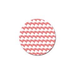 Tree Illustration Gifts Golf Ball Marker