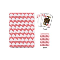 Tree Illustration Gifts Playing Cards (Mini)