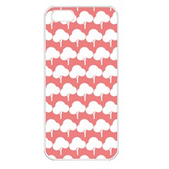 Tree Illustration Gifts Apple iPhone 5 Seamless Case (White)