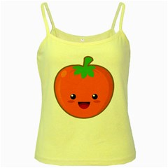 Kawaii Tomato Yellow Spaghetti Tanks