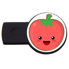 Kawaii Tomato USB Flash Drive Round (2 GB)