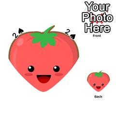 Kawaii Tomato Playing Cards 54 (Heart)