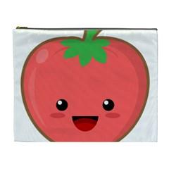 Kawaii Tomato Cosmetic Bag (XL)