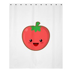 Kawaii Tomato Shower Curtain 60  X 72  (medium)